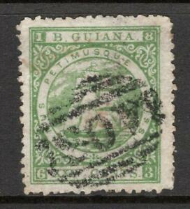 BR. GUIANA 1864  24c  SG 80  Fine Used Excellent Quality And Looking Sound stamp