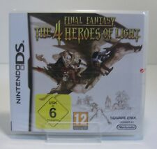 Final Fantasy: the 4 Heroes of Light Nintendo DS Game ** NEW & BOXED **