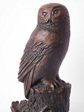 RESIN CAST BARN OWL FIGURE