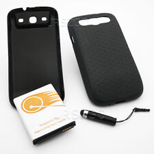 NEW 7500mAh Extended Battery Cover TPU Case for Samsung Galaxy S III R530C Phone