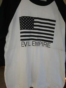 RAGE AGAINST THE MACHINE 1996 Evil vintage licensed concert baseball shirt XL