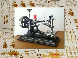 Restoration decals for antique sewing machine Avrial