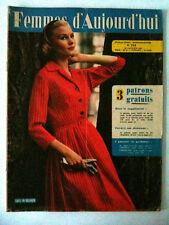 Femmes d'Aujourd'hui N°716 du 22/01/1959 Des Robes qui Brillent....