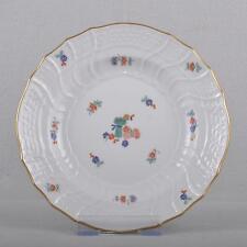 Meissen neubrandenstein piatto dispersivo indiano Garben Pattern & fiorellini, TOP