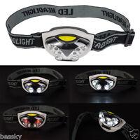 3 Modes Bright 6 LED AAA Head Lamp Light Torch Headlamp Headlight Waterproof New