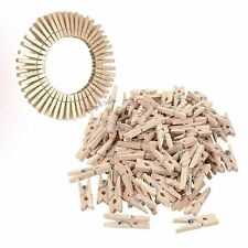 100 Pcs 2.5 CM Natural Wooden Pegs for Art Craft and Decoration