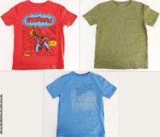 GAP Kids Lot of 3 T-Shirts Boys Size Medium 8 Red SpiderMan Blue Shark Green