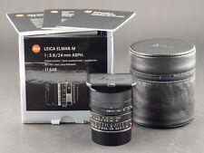 Leica M 24mm 3.8 Elmar ASPH. 11648 6bit  NEU FOTO-GÖRLITZ Verkauf+Ankauf