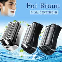Replacement Shaver Head Foil For Braun 32B 32S 21B Series 3 310S 320S 340S