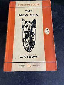 C P SNOW THE NEW MEN 1ST/3 S/B 1961 PENGUIN 1356