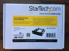 STARTECH.COM HSB100SATBK 5.25IN Trayless SATA Hot-Swap Mobile Rack