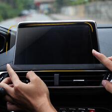 Car Navigation Screen Protector Film For Peugeot 3008 5008 / 3008 GT 2017-2018