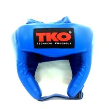 TKO Boxing Head Guard Youth (8 - 11 age) Blue