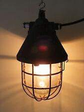 Alte explosionsgeschützte Fabriklampe Loft Lampe, Ex-Leuchte, Bauhaus Art Deco