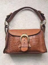 Mulberry oak Croc Effect Handbag