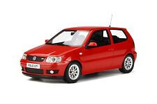 1/18 GT Spirit Otto Mobile Volkswagen Polo GTi from 2001 in Red OT270