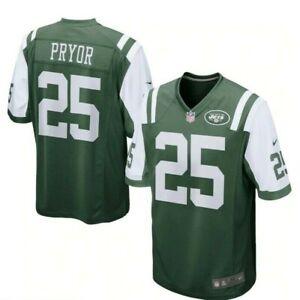 💯% Genuine Calvin Pryor New York Jets Nike Game Jersey XLarge - Green