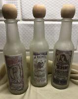 Marys Morning Tonic Remedy Dr. Baldwin's Bitters Bensons Bad Boy Iodine Bottles