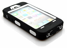 Heavy Duty Shockproof Rugged Hard Screen Defender Case Cover For iPhone 4 4s