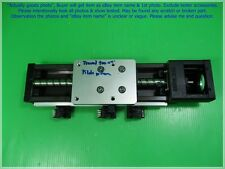 THK SKR33, Linear Actuator stroke ≈ 100mm. Ball Pitch 10 as photos, sn:6254, dφm