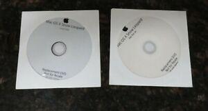 Apple Mac Box Set Includes Mac OS X Snow Leopard iLife iWork