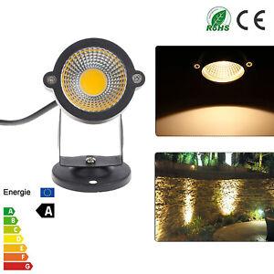 5W LED Landscape Light 6000K Waterproof IP65 Garden Lawn Walkway Spot Lights