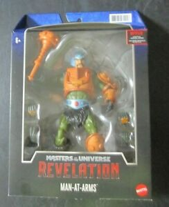 Masters of the Universe MOTU Masterverse Revelation Man-At-Arms Action Figure