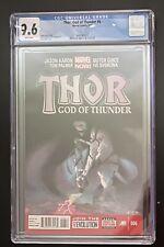 Thor God of Thunder #6 CGC 9.6 2013 1st Cameo of Knull & 1st NecroSword New Slab
