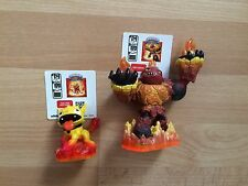 SKYLANDERS GIANTS FIRE DUO hothead & limited edition molten hotdog
