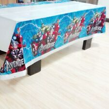 Super Hero Avengers Tablecloth Birthday Party Boys Kids Tableware Table cover