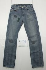 Levis 501 jeans d'occassion (Cod.E155) Taille 45 W31 L34 rétro  homme