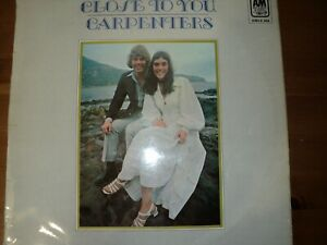 """The Carpenters  """" Close to you""""  Vinyl  album"""