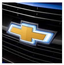 2017-2020 Chevrolet Zr2 Colorado OEM Gold Chevy Illuminated Grille Bowtie Emblem