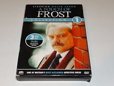 A TOUCH OF FROST Collection 1 (DVD, 3-disc set) UK Detective Series DAVID JASON