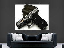 Glock 17 semi automatique gun pistolet Poster arme Art Mural Large