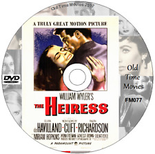THE HEIRESS DVD OLIVIA de HAVILLAND, MONTGOMERY CLIFT & RALPH RICHARDSON (1949)