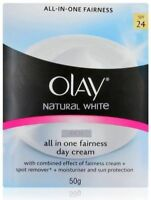 50 gm Olay Natural White 7 In 1 Glowing Fairness Day Skin Cream SPF 24