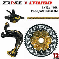 ZRACE LTWOO AT12 12S groupset MTB 12S Group Shifter Derailleur Cassette 50/52T