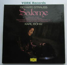 DG 2707 052 - STRAUSS - Salome BOHM / JONES / CASSILLY - Ex 2 LP Record Box Set