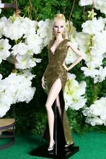 Gown Outfit Dress new for Fashion royalty , nuface barbie silkestone