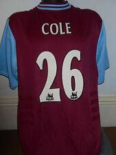 West Ham United Home Shirt (2001/2003 * Cole 26) Grandi Da Uomo #333