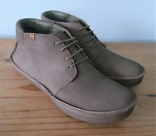 El Naturalista Rice Field Pleasant Brown Lace Up Ankle Boots - size 6.5 (EU40)