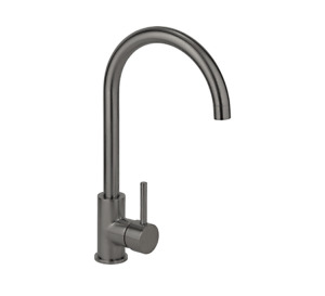 Brushed Gunmetal stainless steel swivel kitchen tap mixer Gold Copper rose gold