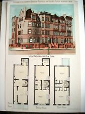 """1892 Ergänzung zu Den """" Scientific American Architects W / New York Mansion"""