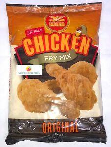 CHICKEN FRY MIX - FRY CHICKEN - BREADCRUMBS - ORIGINAL - HALAL - HEERA - 1kg