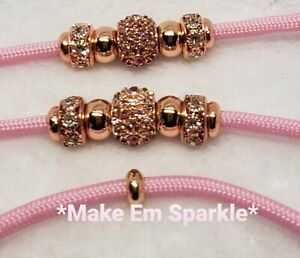 Pink and Rose Gold Dog Show Lead/Leash Bling Snap Show Dog Lead 4 Ft Dog Leash