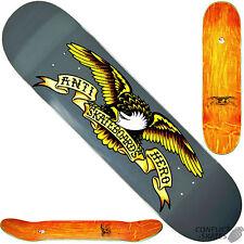 "ANTI HERO ""Classic Eagle - Larger"" Skateboard Deck 8.25"" x 32""  Park Street GREY"