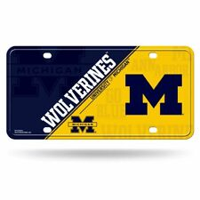 Michigan Wolverines Ncaa 12x6 Auto Metal License Plate Tag Car Truck