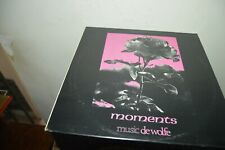 VYNIL LP 3294 DWS MUSIC DE WOLFE MOMENTS  MUSIC LIBRARY RADIO FILM TV