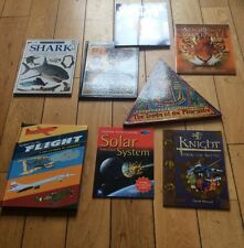 Joblot Of 8 Childrens Hard And Soft Back Books Dk Books Kingfisher